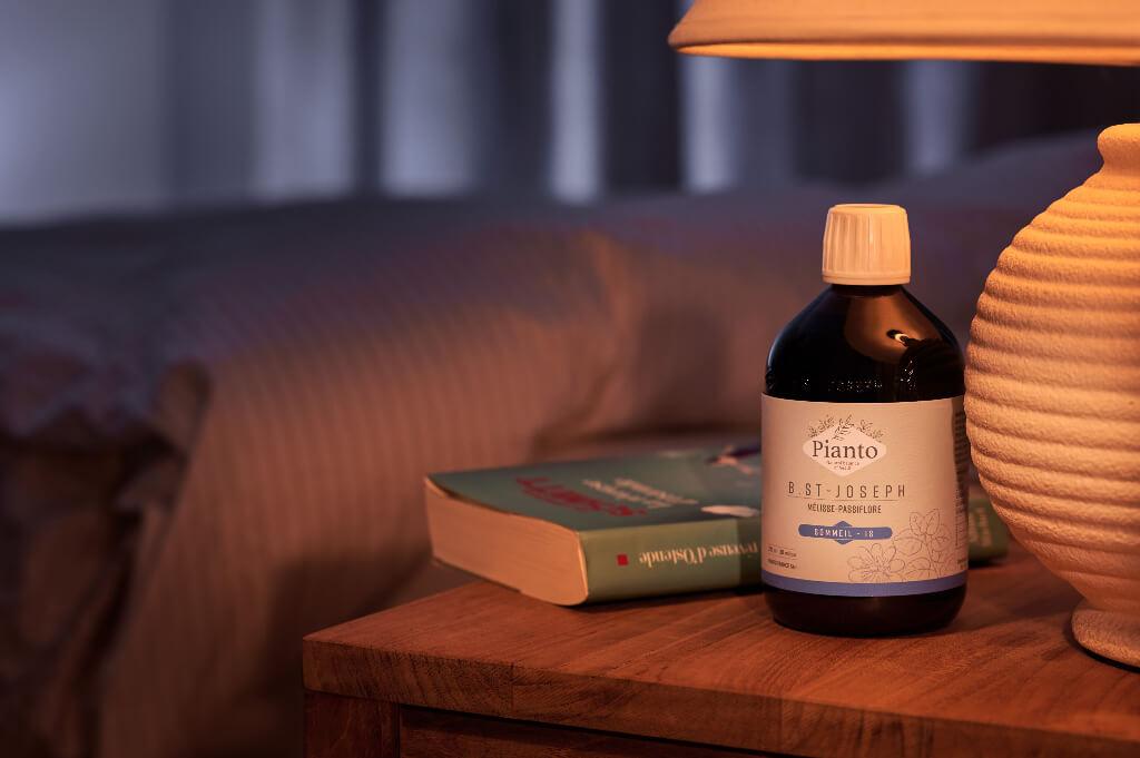 B.St-Joseph Schlaf-NS mit Zitronenmelisse, Passionsblume und Eschscholtzia zur Wiederherstellung der Schlafqualität